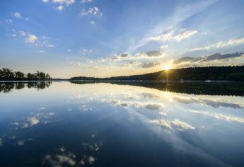 Sonnenaufgang am Großen Lychensee