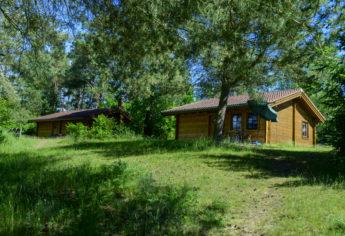 Ferienhaus-Park Brennickenswerder bei Lychen.
